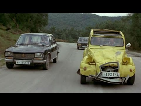 For Your Eyes Only 1981 - Car Chase - Roger Moore James Bond 007.