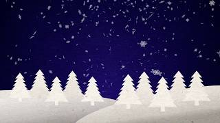 Popup Christmas Tree Free Video Loop Full HD