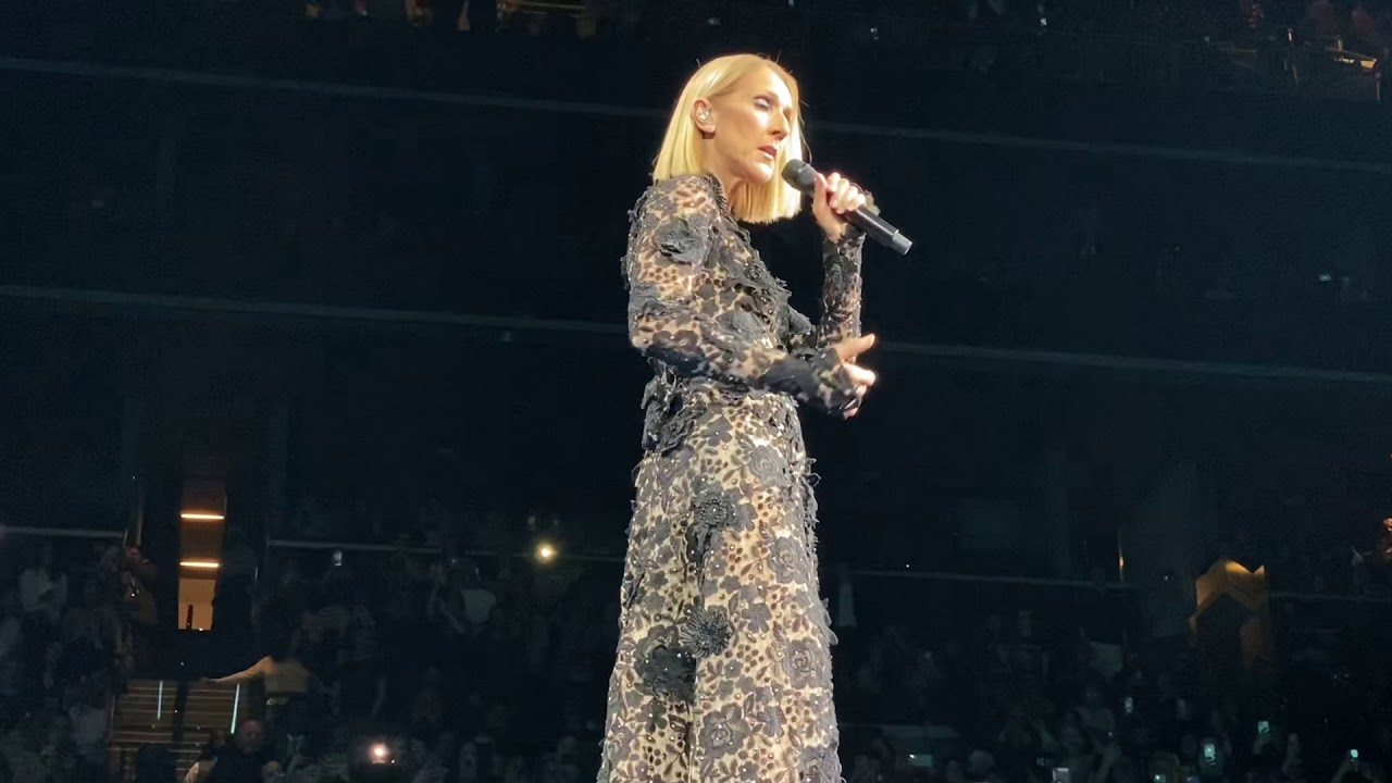 """Download Céline Dion, """"All By Myself,"""" Live at Barclays Center, Mar 5 2020"""