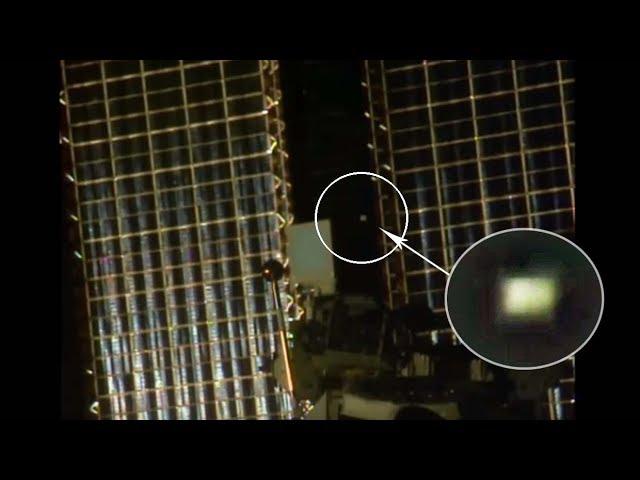 Detectan un misterioso objeto extraterrestre dando vueltas alrededor de la ISS