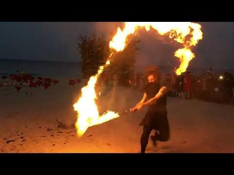 Dreads On Fire - Tim Goddard (Fire Art Festa 1)