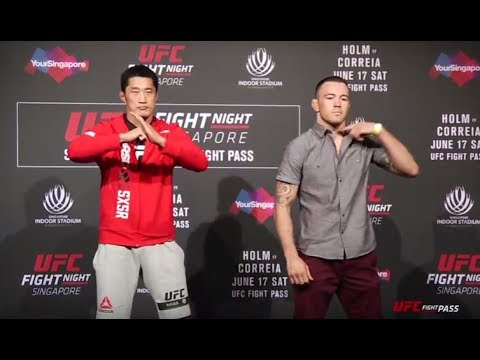 Fight Night Singapore: Media Day Face-offs