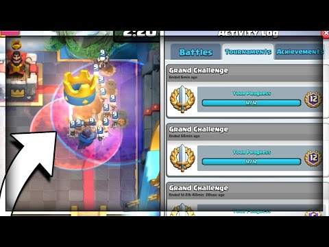 TWO 12 WIN GRAND CHALLENGE IN A ROW!! Grand Challenge Farming + 2v2 in Clash Royale
