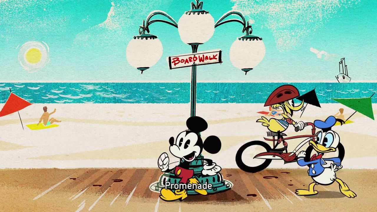 Mickey Mouse Short Pique Nique A La Plage Vf Disney Be Youtube