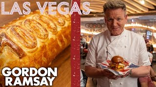 Gordon Ramsay Makes Breakfast Burgers & A Special Beef Wellington