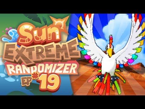 RAINBOW FORM HO-OH APPEARS!! - Pokemon Sun Extreme Randomizer (Episode 19)