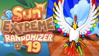 RAINBOW FORM HO-OH APPEARS!! - Pokemon Sun Extreme Randomizer (Episode 19)