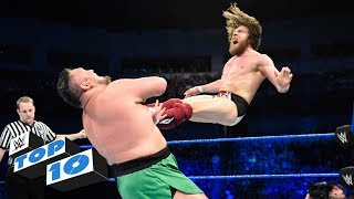 Video Top 10 SmackDown LIVE moments: WWE Top 10, June 19, 2018 download MP3, 3GP, MP4, WEBM, AVI, FLV Juni 2018