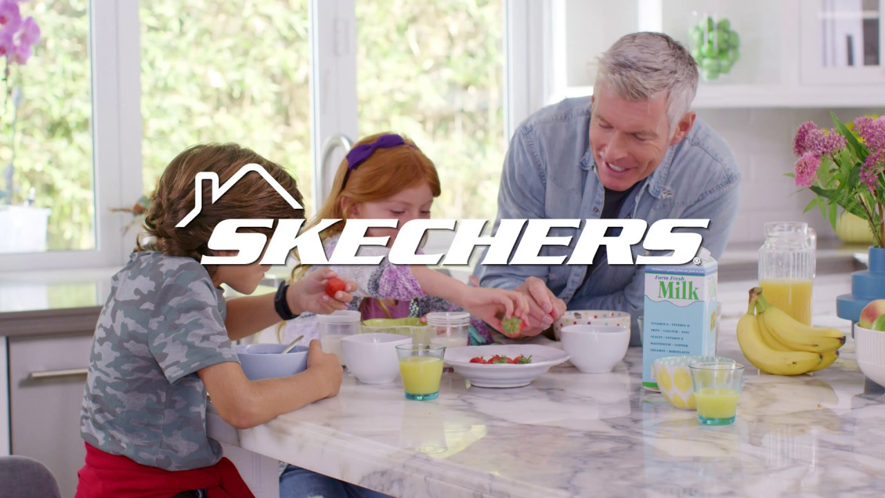 Stay Comfortable in Skechers commercial
