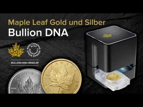 Maple Leaf Gold- & Silbermünzen: Bullion DNA Reader Schafft Sicherheit