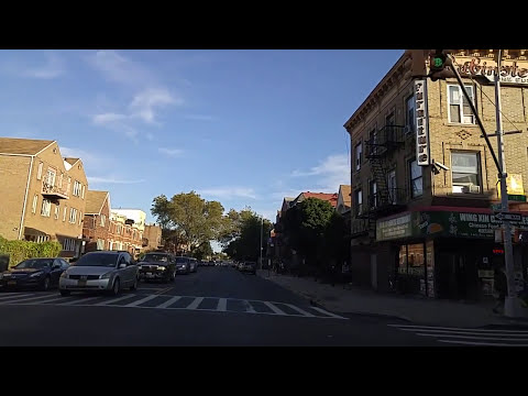 Driving by Borough Park Brooklyn,New York