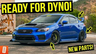 Building the ULTIMATE 2018 Subaru WRX STI - Part 6 (OLM Accessories + Custom Tailights)