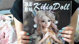 Обзор БЖД куклы 1/3 bjd SD 60 см full-set Kilig Doris doll с Алиэкспресс