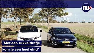 Zo ver kan een elektrische auto echt rijden | NU.nl
