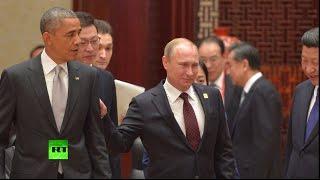 На саммите АТЭС журналисты с интересом наблюдают за поведением мировых лидеров(, 2014-11-11T10:02:06.000Z)