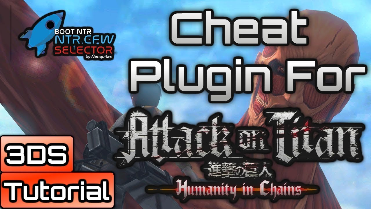 Attack on Titan Humanity in Chains: NTR Cheat Plugin - Infinite Gas,  Blades, Health & Time by GameInCanada