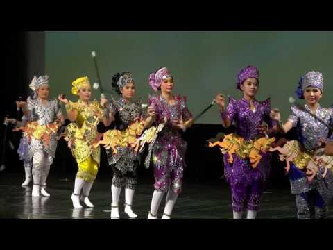 4th CSTD Thailand Dance Competition Grand Prix 2017 National Troupe