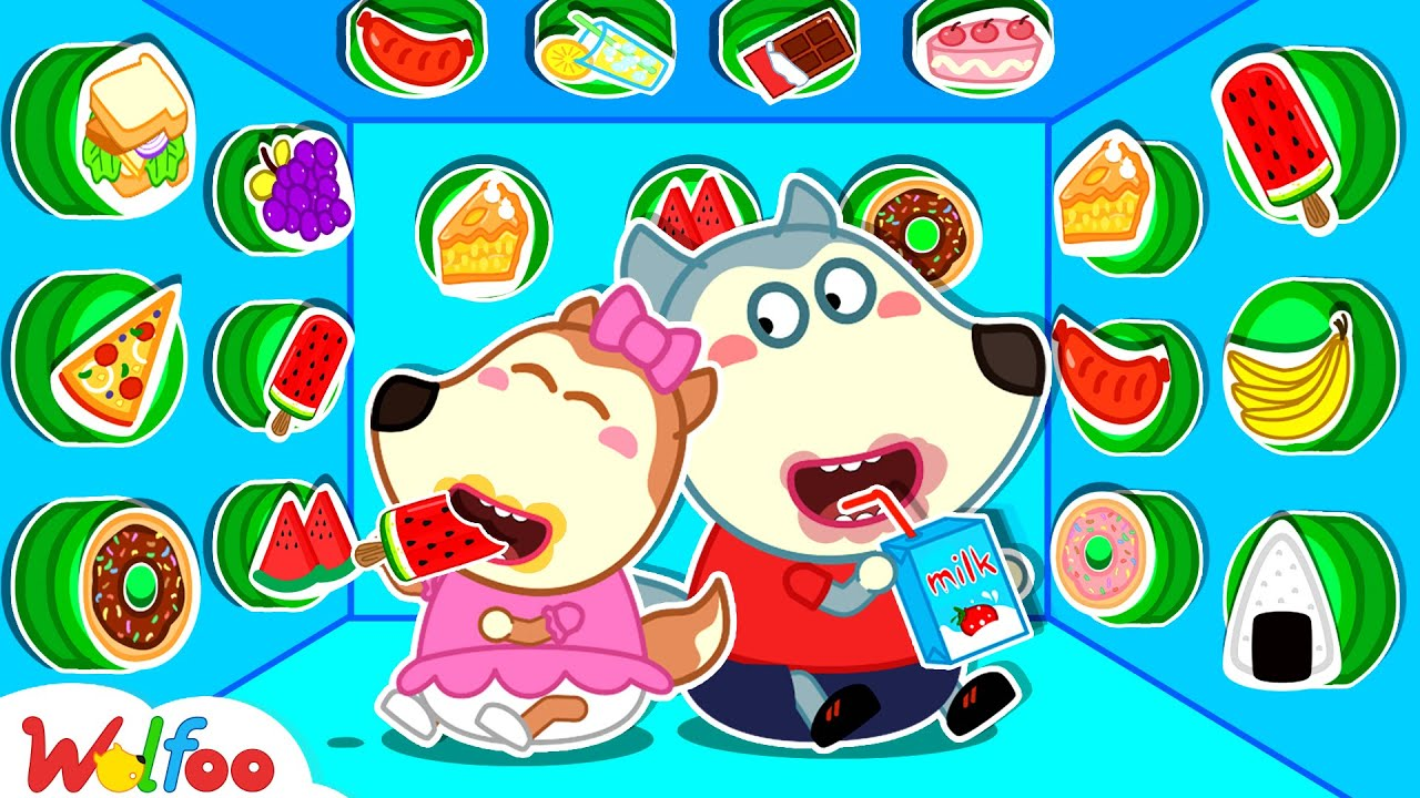 Download Wolfoo and Lucy Play 100 Mystery Buttons Challenge and Other Funny Stories for Kids   Wolfoo Family