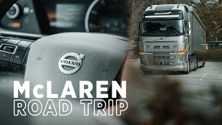 McLaren Road Trip  Spa To Monza  Presented By Volvo Trucks