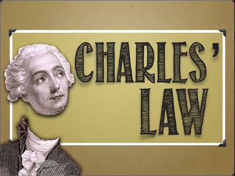 Gases: Charles' Law