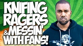 "COD GHOSTS: KNIFING RAGERS & MESSIN' WITH FANS!! ""GUN GAME TROLLING"" & FUNNY MOMENTS!!"