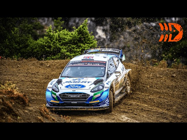 Acropolis Rally Greece 2021 - Challenging Road Conditions on Final Day