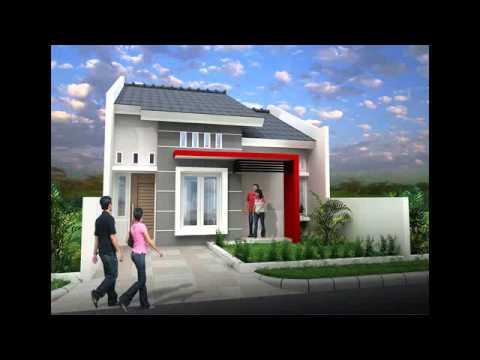 desain rumah persegi panjang - YouTube