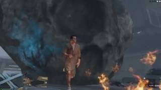 GTA 5 Mods #18 - Mưa thiên thạch và Chàng trai hôm ấy :D