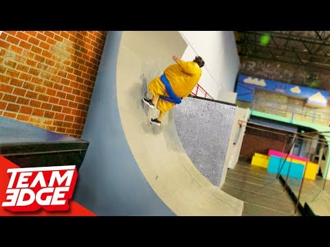 Sumo Suit Parkour Battle!