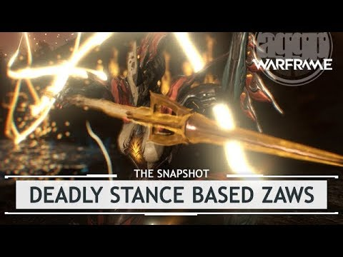 Warframe: Deadly Stance Based Zaws - Priapus & Zelos [thesnapshot]