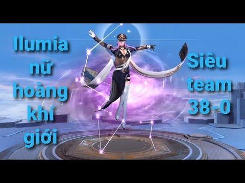 Bống TV Liên Quân Mobi# Ilumia Nữ Hoàng Khí Giới ( Khi bạn nằm trong siêu team)