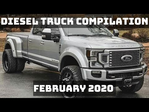 DIESEL TRUCK COMPILATION   FEBRUARY 2020