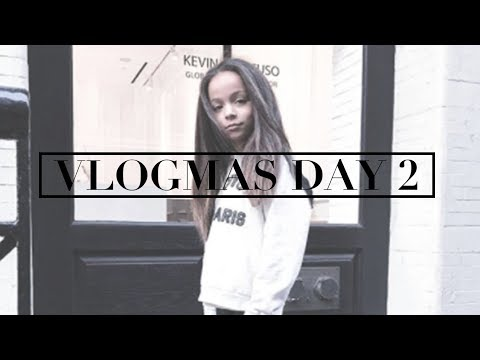 VLOGMAS DAY 2 | Hair Transformation | Clothing Haul