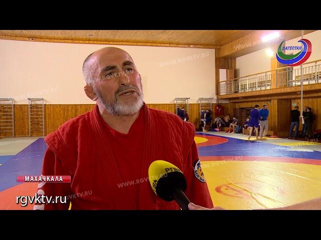 Дагестанские самбисты приняли участие на чемпионате МВД России в Санкт-Петербурге
