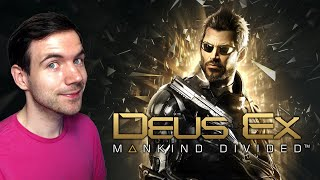 Deus Ex: Mankind Divided Is ALSO Too Complex for Me