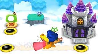 New Super Mario Bros. 2 Walkthrough - World 5 (All Star Coins All Secret Area)