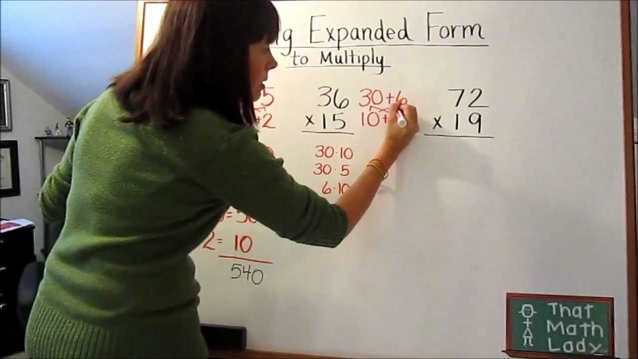 expanded form youtube  Multiplication And Expanded Form