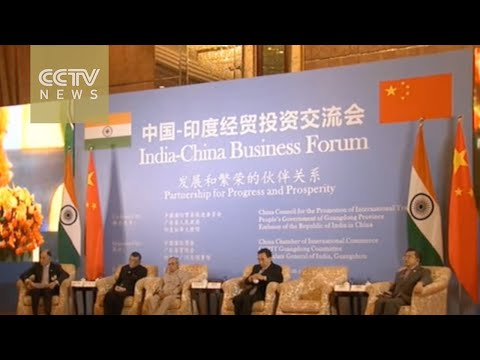 Indian president pitches opportunities to Chinese investors