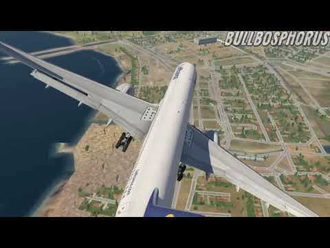 B757 BOTH ENGINE FAILURE | TRY TO LAND CHALLENGE (XPLANE)