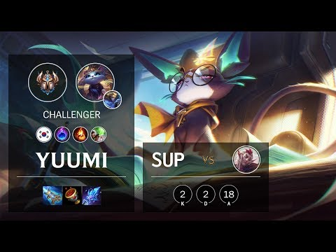 Yuumi Support vs Rakan - KR Challenger Patch 10.3