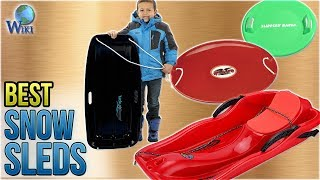 7 Best Snow Sleds 2018