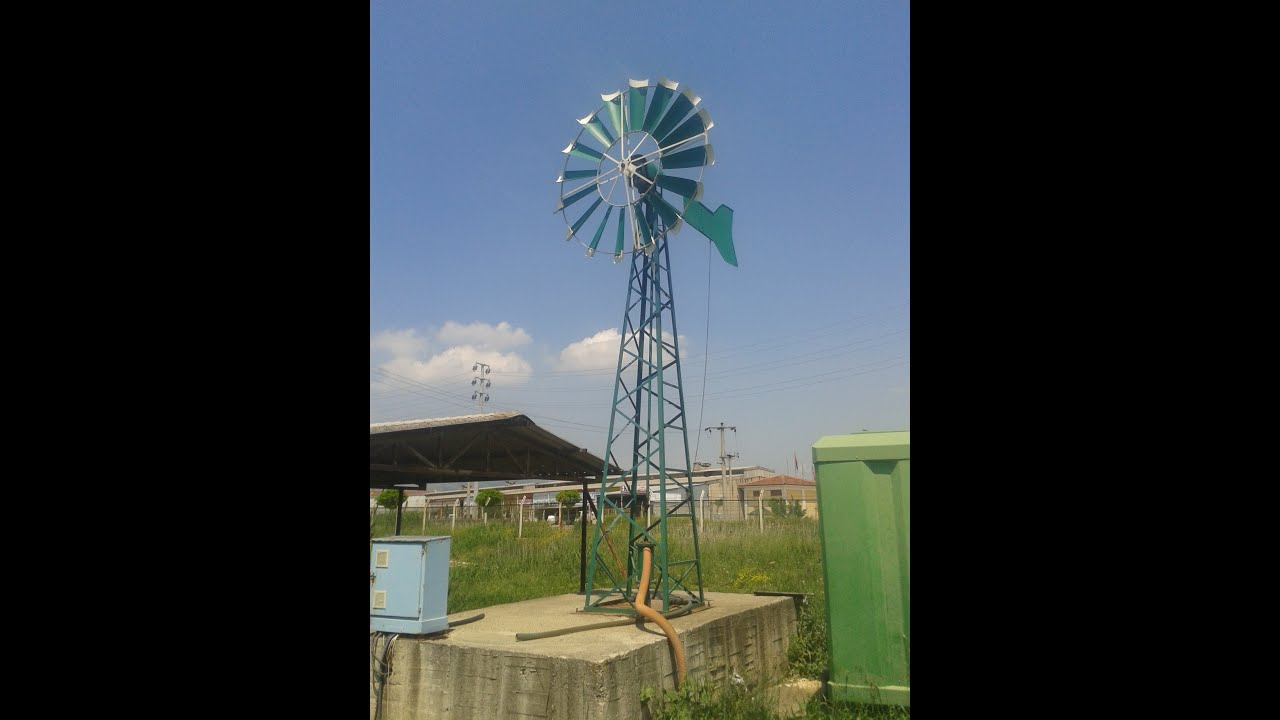 wind turbine water pump youtube