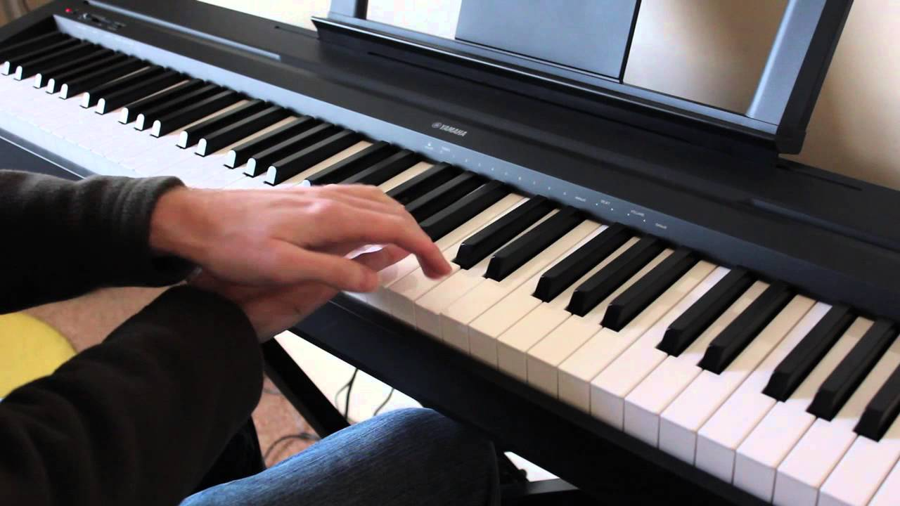 yamaha p35 piano with eastwest pianos elegance youtube. Black Bedroom Furniture Sets. Home Design Ideas