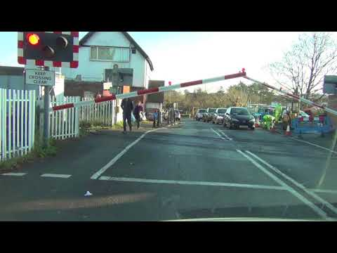 Cookham Level Crossing