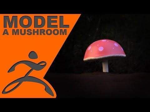 zBrush: Model a Mushroom