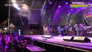 Ky-Mani Marley & Andrew Tosh - Small Axe - live at Rototom 2012