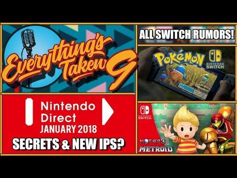 Nintendo Switch Direct ALL Announcements Rumours & Secrets | ETPodcast