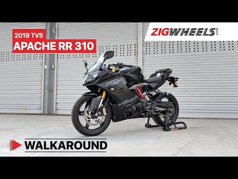 2019 TVS Apache RR 310 Launch Video | Price, Review, Phantom Black & More