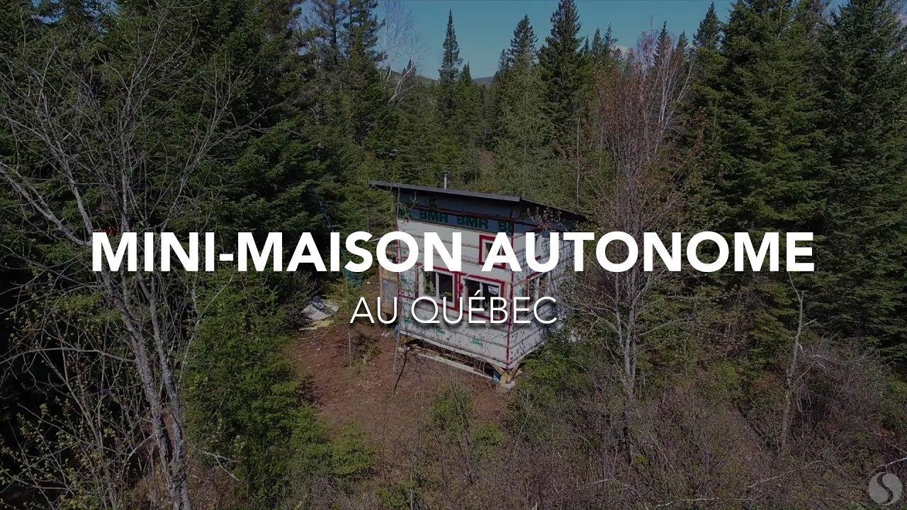 Mini Maison Autonome Au Québec Visite Youtube