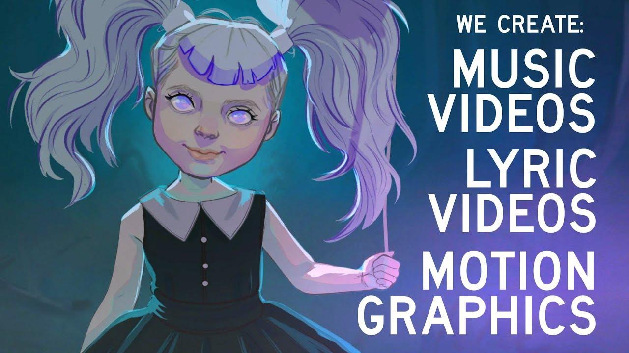 Music videos. Lyric videos. Motion Graphics -  Black Balloon